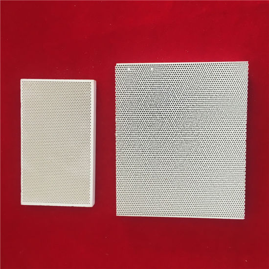 Cordierite Infrared Honeycomb Ceramic Burner Plate for Gas Furnace pictures & photos