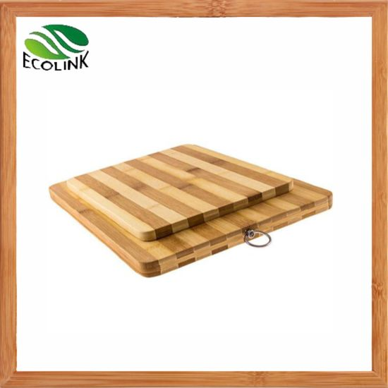 Dual Color Organic Bamboo Kitchen Cutting Board for Meat /Fruit /Cheese/Vegetable pictures & photos