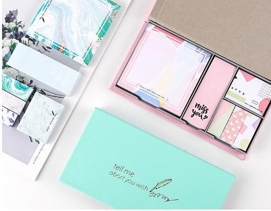 Newest Sticky Note Pad Sets for Stationery Gifts Sets pictures & photos