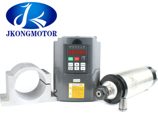 2.2kw - 4.5kw Air / Water Cooled AC Spindle Motor for Engraving Wood Router CNC pictures & photos