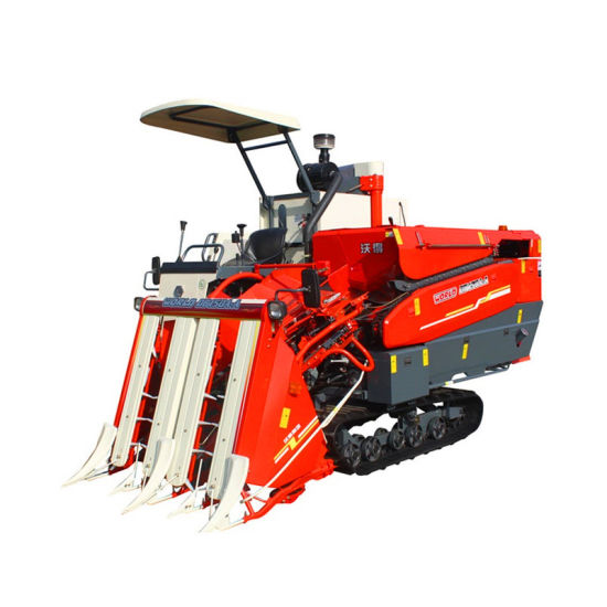 Half-Feeding Head Feed Rice and Wheat Paddy Harvester pictures & photos