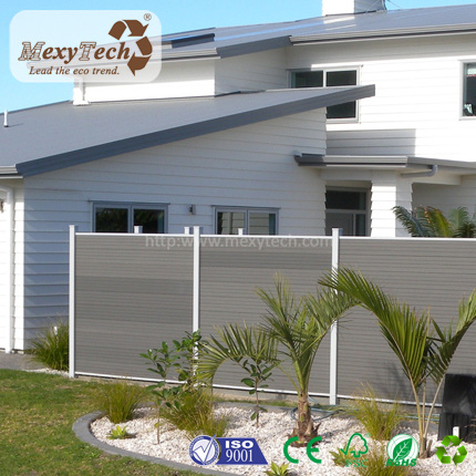 European Style Domestic Wood Plastic Composite WPC Fence pictures & photos
