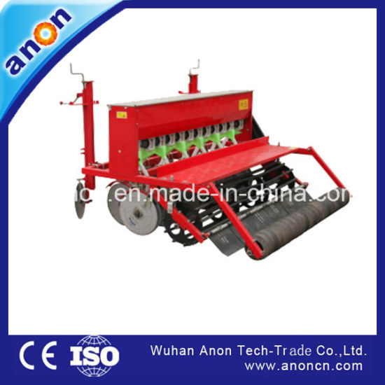 Anon Agricultural Tractor Mounted Rice Wheat Seed Planter for Sale pictures & photos