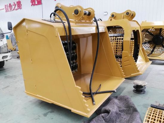 High Quality Cat320 Crusher Screening Bucket pictures & photos