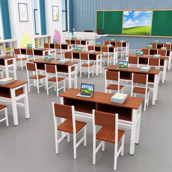 Chinese Metal Leg Wooden Classroom Children Baby Kids School Furniture pictures & photos