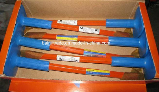 16*250 Flat Stone Chisel with Rubber Grip (BR2325) pictures & photos