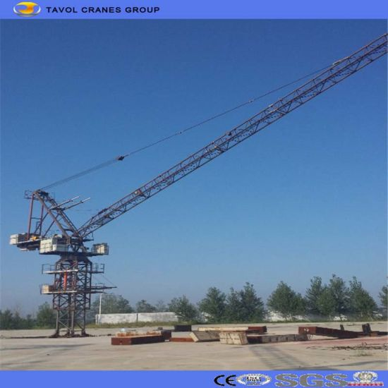 Heavy Construction Equipment Luffing Tower Crane pictures & photos