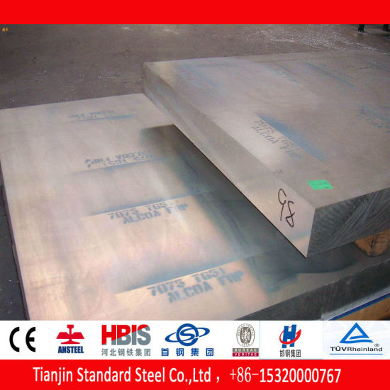 7075 Hot Rolled Aluminium Alloy Sheet T6 T112 pictures & photos
