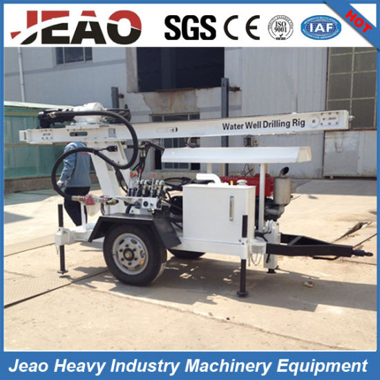 Small Portable Borehole Water Well Drilling Rig Machine Price pictures & photos