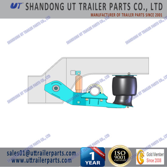 12 Tons Air Suspension for 127mm and 146mm Round Axle Beam for Trailer and Truck pictures & photos