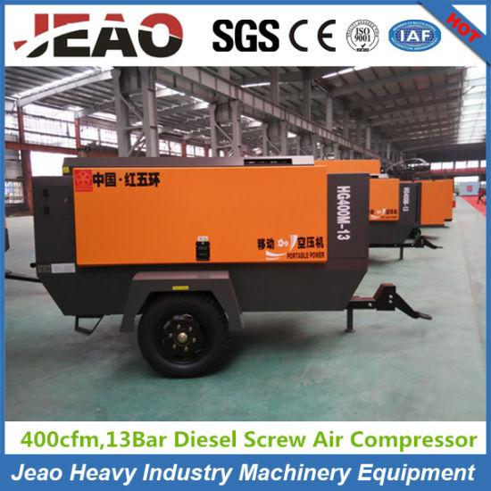 10m3/Min 13bar Diesel Mobile Air Compressor Factory pictures & photos