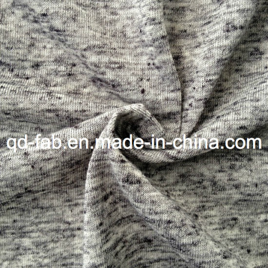 Linen Heather Grey T-Shirt Jersey (QF13-0282) pictures & photos