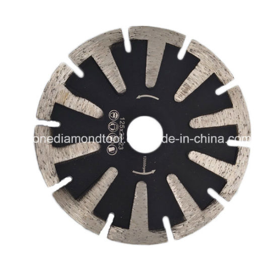 5 Inch T Segment Diamond Curved Saw Cutting Blades pictures & photos