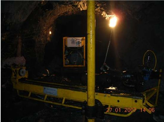 Gp46210 All Hydraulic Diamond Coring Drilling Rig for Underground pictures & photos