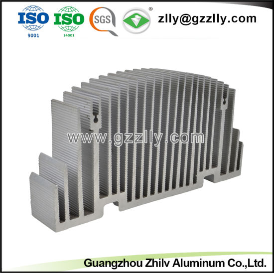 Building Material Aluminum Profiles Heat Sink for Machine pictures & photos