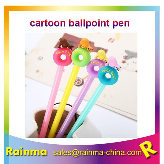 Hot Selling Plastic Cute Cartoon Ballpoint Pen Cheap Price Custom Ballpoint Pen pictures & photos