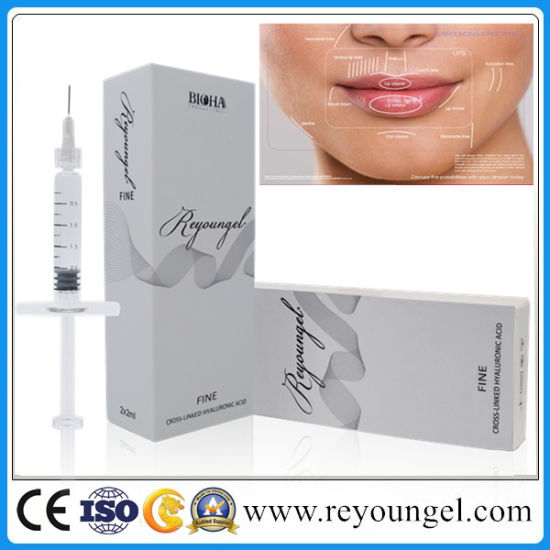 Reyoungel Sodium Hyaluronate Acid Dermal Filler Injection pictures & photos
