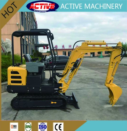 ACTIVE brand 8018 1.8ton mini excavator with competetive price pictures & photos