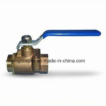Full Port Brozne Ball Valve with Flange pictures & photos