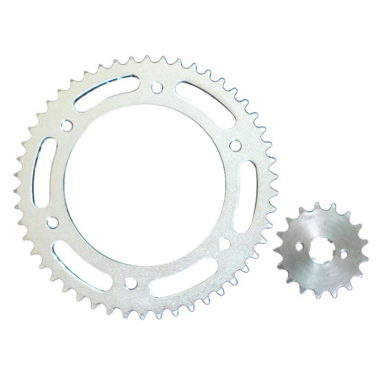 High Quality Motorcycle Rear and Front Sprocket pictures & photos