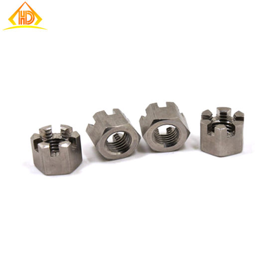 Stainless Steel Hex Slot Nut Castle Nut DIN935 pictures & photos
