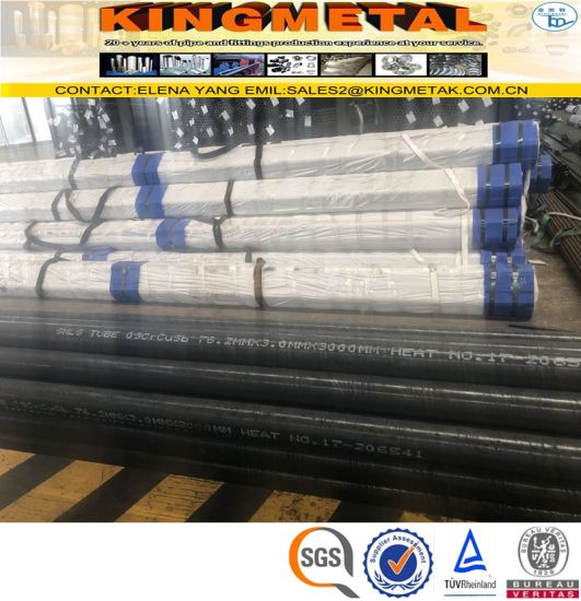 Seamless Alloy Steel 09crcusb Boiler Tube pictures & photos
