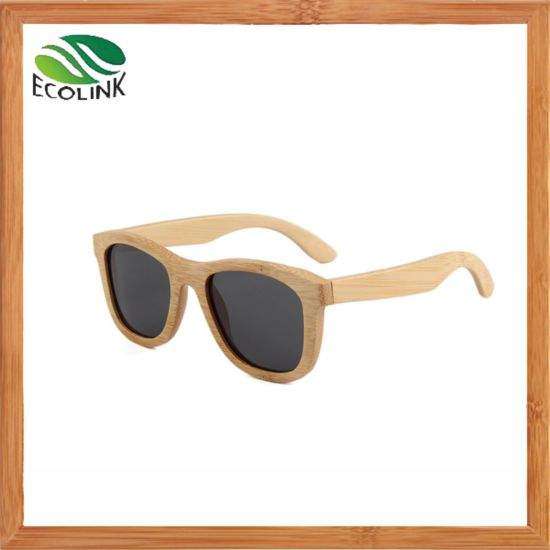 Stylish Bamboo Sun Glass Wooden Bamboo Sunglasses for Women/Man pictures & photos