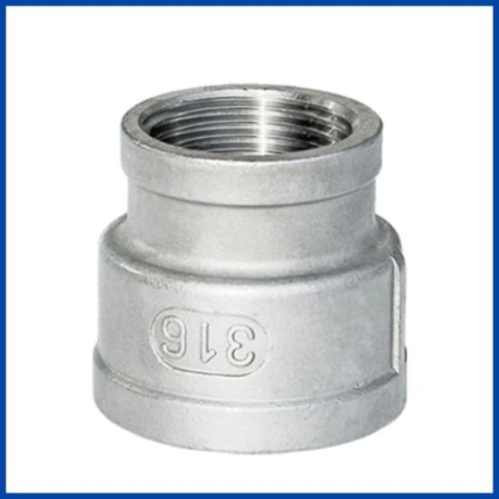 150lb Stainless Steel 304/316 Screwed Reduce Socket with ISO4144 & En10241 Type pictures & photos