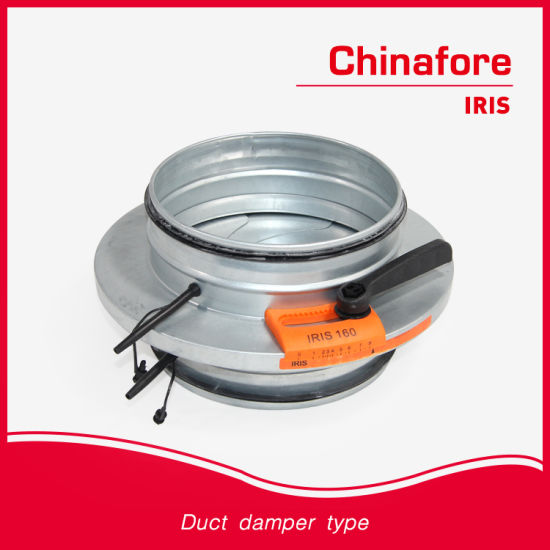 Air Volume Control Duct Damper Iirs pictures & photos