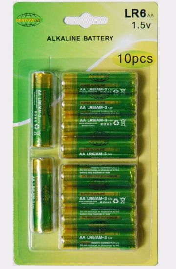 Christmas on Sale! Lr6 AA No. 5 Alkaline Dry Battery pictures & photos