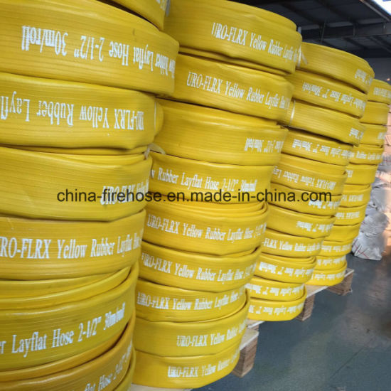 2.5 Luch Reasonable Price OEM Canvas Flexible Fire Hose pictures & photos