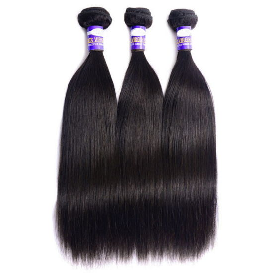 Peruvian Virgin Human Hair Straight Unprocessed pictures & photos