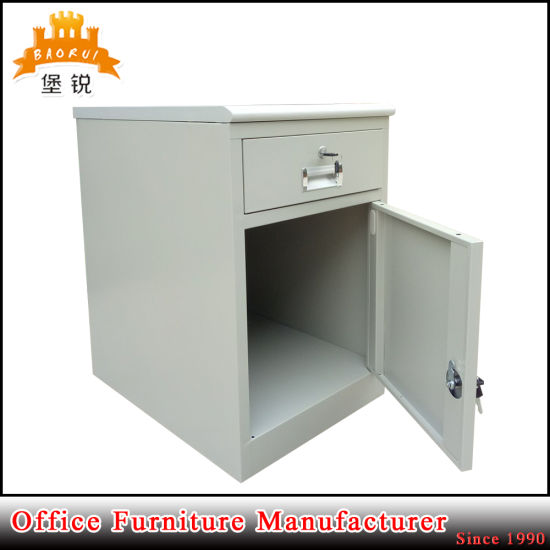 Hospital Mobile Metal Bedside Table Shelf Nightstand Bedroom Furniture Cabinet pictures & photos
