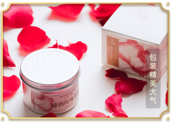 Wholesale Private Label Organic Hyaluronic Acid Whitening Hydration Rose Essence Face Facial Mask pictures & photos