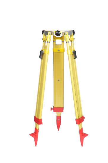 Common Use Heavy Wooden Aluminum Tripod for Total Station/Automatic Level/GPS Survey Tripod pictures & photos
