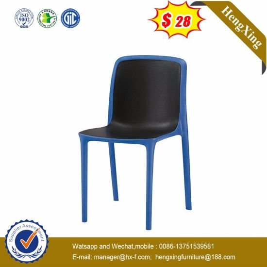 Chinese School Waiting Room Dining Metal Leg Plastic Conference Chair pictures & photos