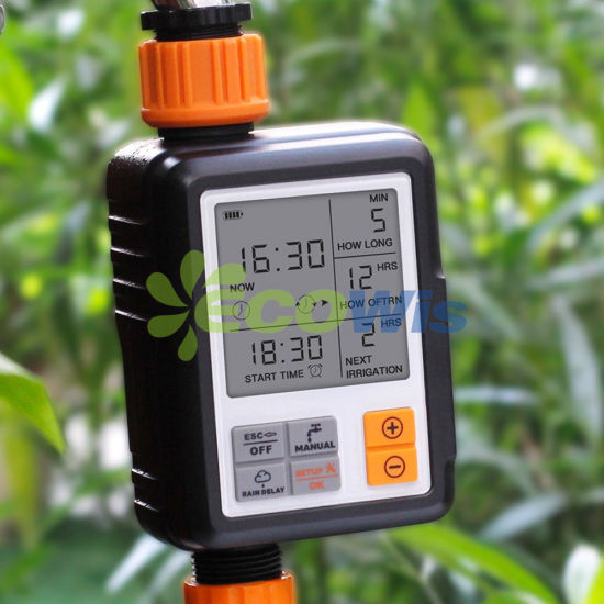 Outdoor Sprinkling Watering Digital Irrigation Water Timer pictures & photos