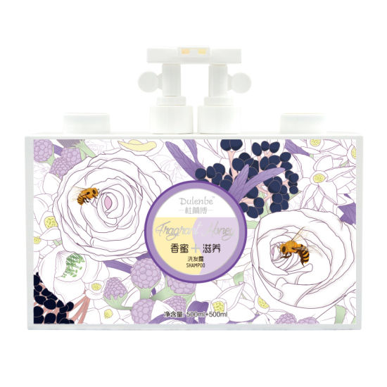 Dulenbe Honey & Nourishing Hair Shampoo 500ml+500ml pictures & photos