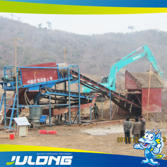 Gold Mining Machine to Be Used on Land pictures & photos