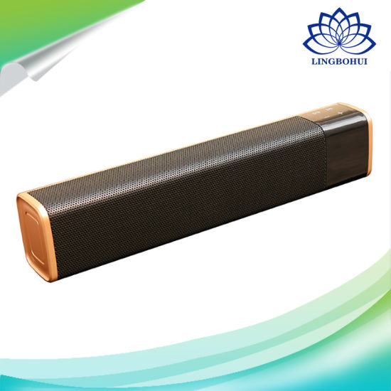 Chocolate Shape Soundbar NFC Connection Wireless Bluetooth Speaker pictures & photos