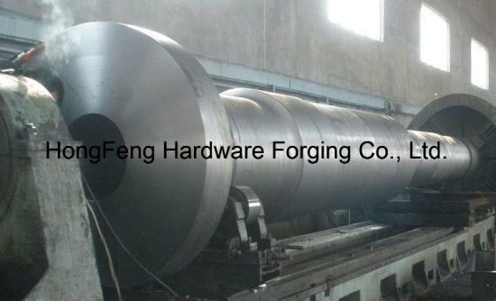 OEM High Grade Steel Hollow Shaft Forging pictures & photos