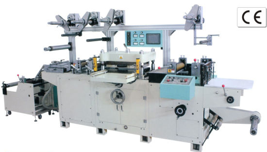 Multi Function Electronic Label Die Cutting Machine (JMQ-320E) pictures & photos