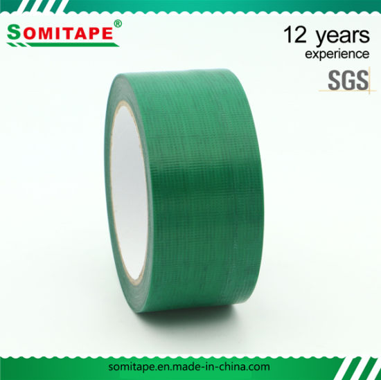 Sh319 Professional Dark Green PE Masking Tape/Curing Tape for Surfaces Masking Protection Somitape pictures & photos