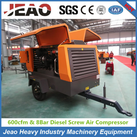 132kw Diesel Air Compressor 460cfm/500cfm/550cfm with 13bar and 600cfm /8bar pictures & photos