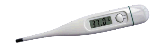 Digital Basal Body Thermometer with LCD Display pictures & photos
