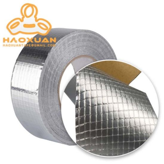 China Woven Aluminum Foil Tape for Natural Gas Pipeline Supplier pictures & photos