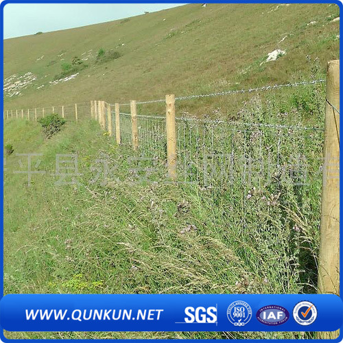 Cow Farm Guard Galvanized Cattle Fence ISO9001-2008 pictures & photos
