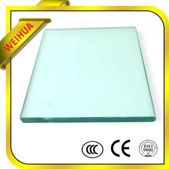 12mm Thick Safety Bronze Tempered Glass for Construction pictures & photos