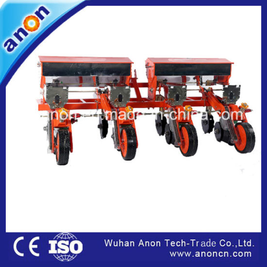 Anon Tip Quality 4 Row Corn Seeder Wheat Planter Sorghum Seeder for 4 Wheel Tractor pictures & photos