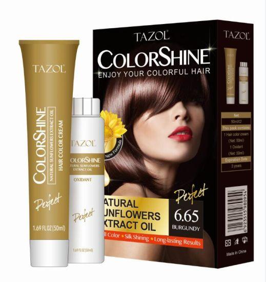Tazol Colorshine Hair Color pictures & photos